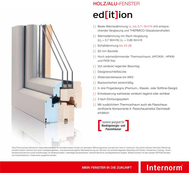 Holz Aluminium Fenster Mit Den Besten Wärmedämmeigenschaften