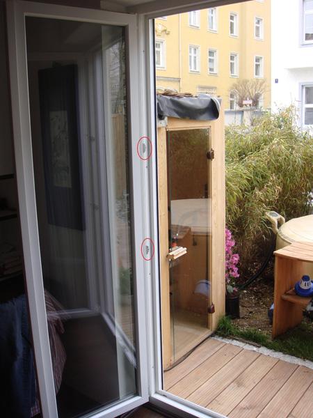 Balkontür Kunststoff